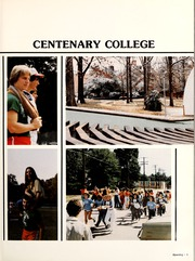 Page 7, 1981 Edition, Centenary College of Louisiana - Yoncopin Yearbook (Shreveport, LA) online yearbook collection