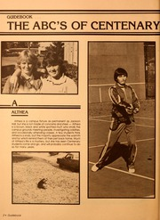 Page 6, 1982 Edition, Centenary College of Louisiana - Yoncopin Yearbook (Shreveport, LA) online yearbook collection