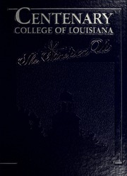 1986 Edition, Centenary College of Louisiana - Yoncopin Yearbook (Shreveport, LA)