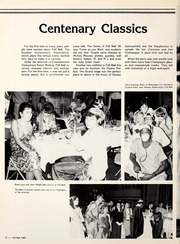 Page 14, 1986 Edition, Centenary College of Louisiana - Yoncopin Yearbook (Shreveport, LA) online yearbook collection