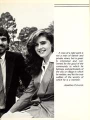 Page 15, 1986 Edition, Centenary College of Louisiana - Yoncopin Yearbook (Shreveport, LA) online yearbook collection