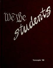 1988 Edition, Centenary College of Louisiana - Yoncopin Yearbook (Shreveport, LA)