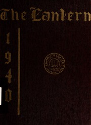 Page 1, 1940 Edition, Lambuth College - Lantern Yearbook (Jackson, TN) online yearbook collection