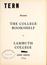 Page 7, 1940 Edition, Lambuth College - Lantern Yearbook (Jackson, TN) online yearbook collection