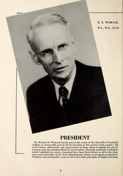 Page 10, 1946 Edition, Lambuth College - Lantern Yearbook (Jackson, TN) online yearbook collection