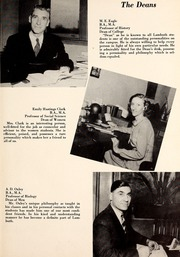 Page 11, 1946 Edition, Lambuth College - Lantern Yearbook (Jackson, TN) online yearbook collection