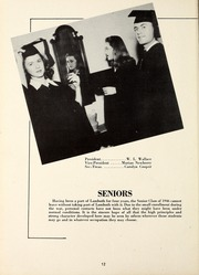 Page 16, 1946 Edition, Lambuth College - Lantern Yearbook (Jackson, TN) online yearbook collection