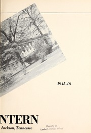 Page 7, 1946 Edition, Lambuth College - Lantern Yearbook (Jackson, TN) online yearbook collection