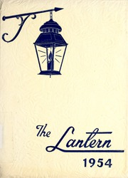 Page 1, 1954 Edition, Lambuth College - Lantern Yearbook (Jackson, TN) online yearbook collection