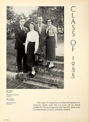 Page 16, 1955 Edition, Lambuth College - Lantern Yearbook (Jackson, TN) online yearbook collection