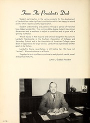 Page 8, 1955 Edition, Lambuth College - Lantern Yearbook (Jackson, TN) online yearbook collection