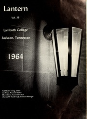 Page 5, 1964 Edition, Lambuth College - Lantern Yearbook (Jackson, TN) online yearbook collection