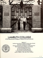 Page 209, 1974 Edition, Lambuth College - Lantern Yearbook (Jackson, TN) online yearbook collection