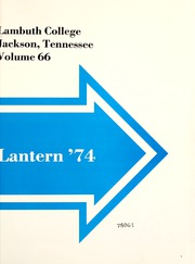 Page 5, 1974 Edition, Lambuth College - Lantern Yearbook (Jackson, TN) online yearbook collection