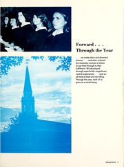 Page 9, 1974 Edition, Lambuth College - Lantern Yearbook (Jackson, TN) online yearbook collection