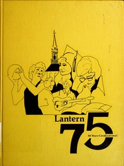 Page 1, 1975 Edition, Lambuth College - Lantern Yearbook (Jackson, TN) online yearbook collection