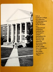 Page 9, 1975 Edition, Lambuth College - Lantern Yearbook (Jackson, TN) online yearbook collection