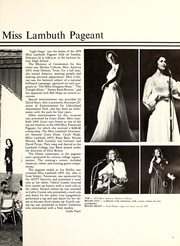 Page 37, 1980 Edition, Lambuth College - Lantern Yearbook (Jackson, TN) online yearbook collection