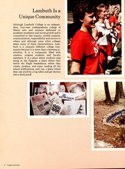 Page 10, 1987 Edition, Lambuth College - Lantern Yearbook (Jackson, TN) online yearbook collection