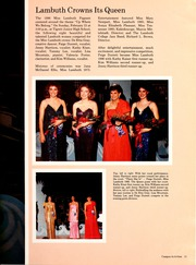 Page 15, 1987 Edition, Lambuth College - Lantern Yearbook (Jackson, TN) online yearbook collection