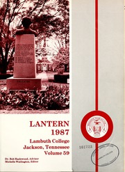 Page 5, 1987 Edition, Lambuth College - Lantern Yearbook (Jackson, TN) online yearbook collection