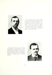Page 17, 1909 Edition, University of Montevallo - Montage Technala Yearbook (Montevallo, AL) online yearbook collection
