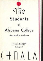 Page 7, 1937 Edition, University of Montevallo - Montage Technala Yearbook (Montevallo, AL) online yearbook collection