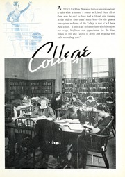 Page 13, 1939 Edition, University of Montevallo - Montage Technala Yearbook (Montevallo, AL) online yearbook collection