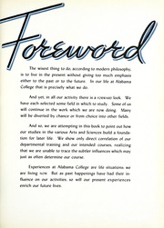 Page 9, 1939 Edition, University of Montevallo - Montage Technala Yearbook (Montevallo, AL) online yearbook collection