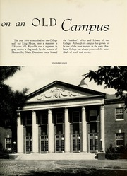 Page 13, 1941 Edition, University of Montevallo - Montage Technala Yearbook (Montevallo, AL) online yearbook collection