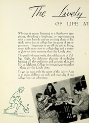 Page 8, 1941 Edition, University of Montevallo - Montage Technala Yearbook (Montevallo, AL) online yearbook collection