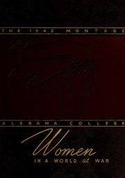 1942 Edition, University of Montevallo - Montage / Technala Yearbook (Montevallo, AL)