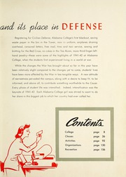 Page 7, 1942 Edition, University of Montevallo - Montage Technala Yearbook (Montevallo, AL) online yearbook collection