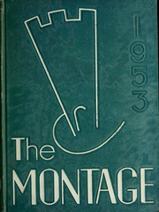 1953 Edition, University of Montevallo - Montage / Technala Yearbook (Montevallo, AL)