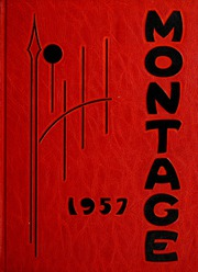 1957 Edition, University of Montevallo - Montage / Technala Yearbook (Montevallo, AL)