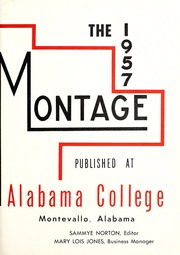 Page 5, 1957 Edition, University of Montevallo - Montage Technala Yearbook (Montevallo, AL) online yearbook collection