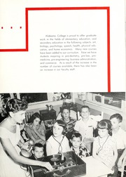 Page 9, 1957 Edition, University of Montevallo - Montage Technala Yearbook (Montevallo, AL) online yearbook collection
