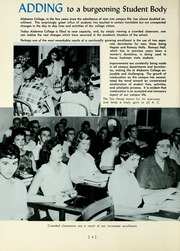 Page 8, 1960 Edition, University of Montevallo - Montage Technala Yearbook (Montevallo, AL) online yearbook collection