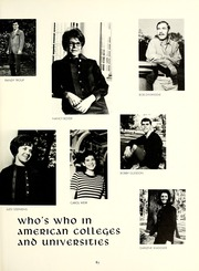 Page 89, 1968 Edition, University of Montevallo - Montage / Technala Yearbook (Montevallo, AL) online yearbook collection