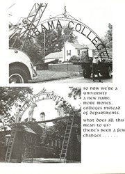 Page 8, 1970 Edition, University of Montevallo - Montage Technala Yearbook (Montevallo, AL) online yearbook collection