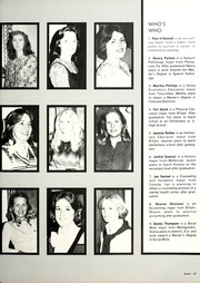 Page 57, 1978 Edition, University of Montevallo - Montage / Technala Yearbook (Montevallo, AL) online yearbook collection