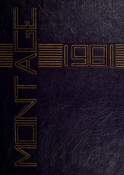 1981 Edition, University of Montevallo - Montage Technala Yearbook (Montevallo, AL)