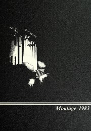1983 Edition, University of Montevallo - Montage Technala Yearbook (Montevallo, AL)