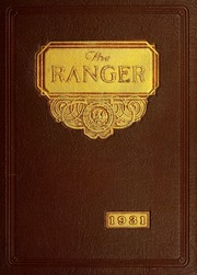 Page 1, 1931 Edition, Regis College - Ranger Yearbook (Denver, CO) online yearbook collection