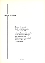 Page 15, 1932 Edition, Regis College - Ranger Yearbook (Denver, CO) online yearbook collection