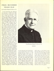 Page 11, 1940 Edition, Regis College - Ranger Yearbook (Denver, CO) online yearbook collection