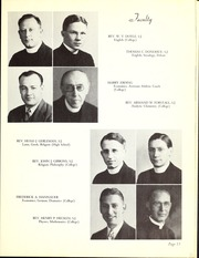 Page 17, 1940 Edition, Regis College - Ranger Yearbook (Denver, CO) online yearbook collection