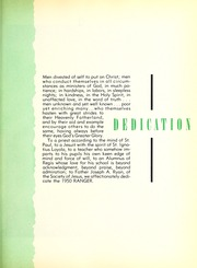 Page 9, 1950 Edition, Regis College - Ranger Yearbook (Denver, CO) online yearbook collection