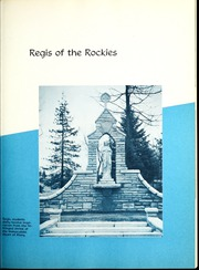 Page 11, 1951 Edition, Regis College - Ranger Yearbook (Denver, CO) online yearbook collection