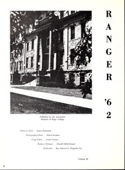 Page 14, 1962 Edition, Regis College - Ranger Yearbook (Denver, CO) online yearbook collection